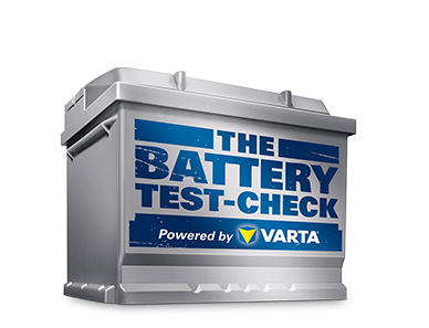 The Battery Test-Check powered by VARTA