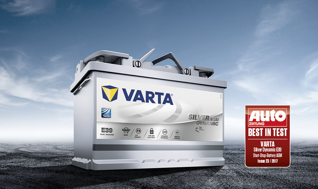 VARTA® automotive batteries Get your battery from the