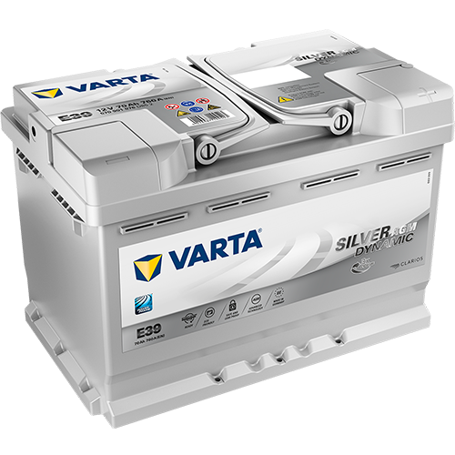 VARTA® Silver Dynamic AGM — the start-stop benchmark for unparalleled performance.