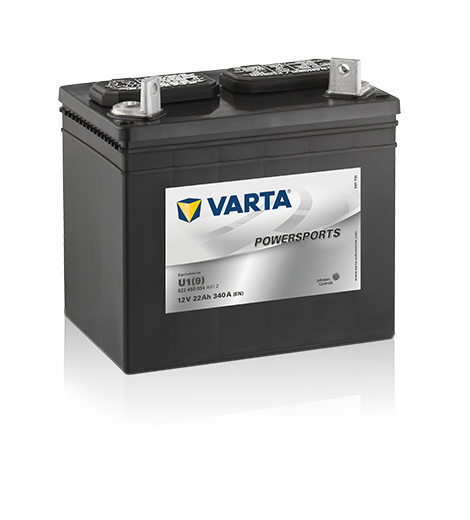 VARTA® Powersports Gardening batterij - zeer goede koudstartprestaties, lekvrij en bestand tegen kantelen