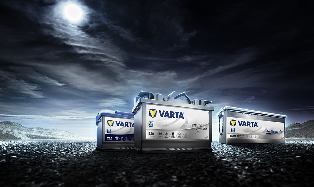 the latest c247d 6f28c VARTA® bilbatterier – Få et batteri fra den globale markedslederen for  batterier