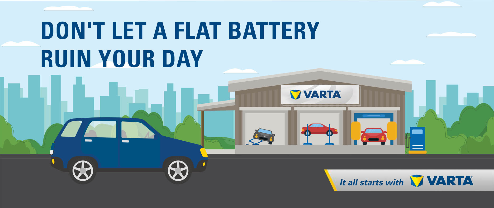 Varta® Battery Test Masthead