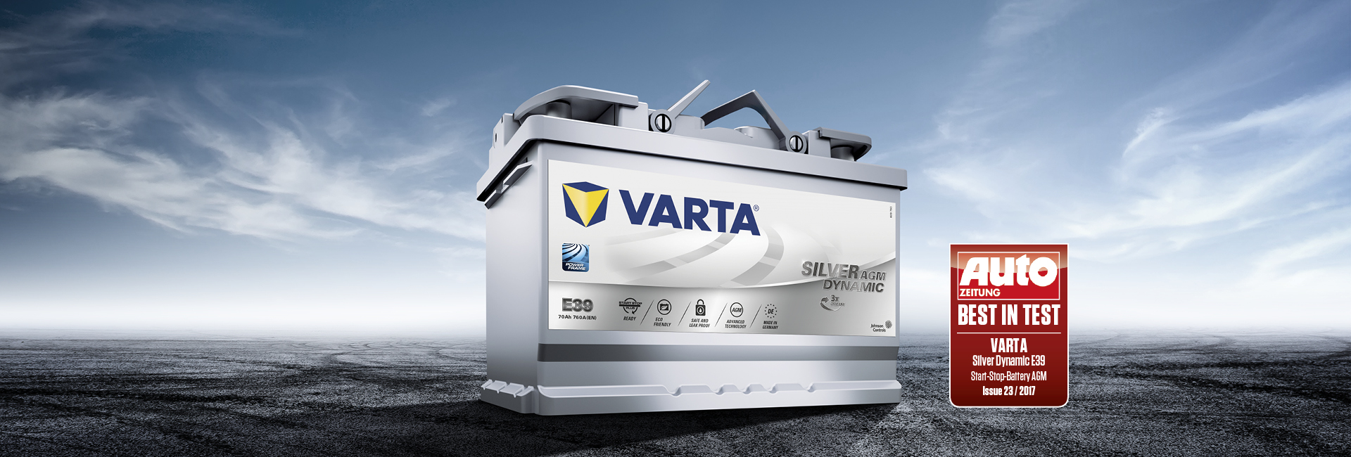 pretty nice 2c053 389f1 VARTA® AGM Batteries