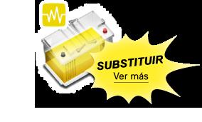 La batería amarilla significa que hay que cambiar la batería