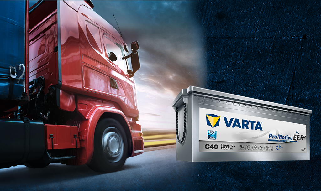 online store 2e768 87cb6 VARTA® EFB technology for trucks